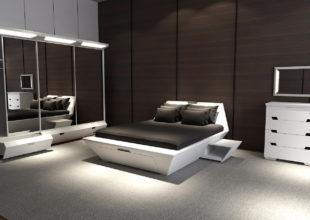 Дизайн спального гарнитура «Фрего»