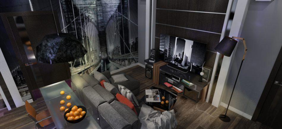 Дизайн квартиры на Невском проспекте