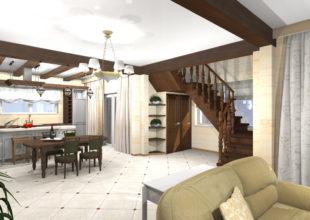 Дизайн-проект дома из бруса в Касимово