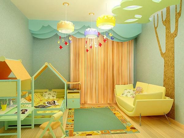 Дизайн детской комнаты своими руками фото